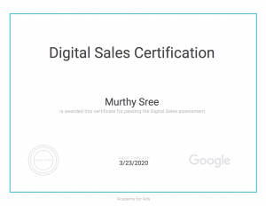 Digital Sales Certificated SEO consultant Melbourne