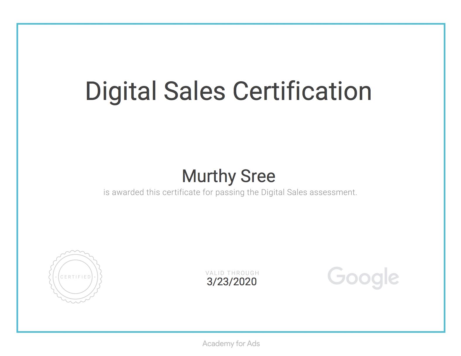 Digital Sales Certificated SEO consultant Melbourne