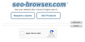 SEO Browser tools