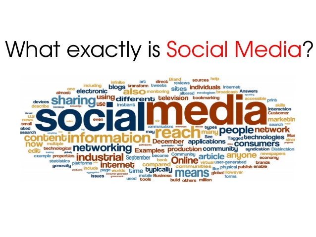 What is socialmedia